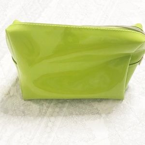 Ted Baker London Bags - Ted Baker London Lime Green & Pink Makeup Bag